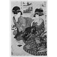 Kitagawa Utamaro: 「通郭盛八景」 - Ritsumeikan University