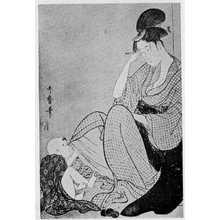 Kitagawa Utamaro: (耳かき) - Ritsumeikan University