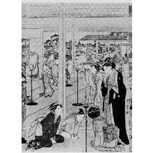 喜多川歌麿: (酒宴図 中) - 立命館大学