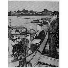 喜多川歌麿: (両国の船遊び 右) - 立命館大学