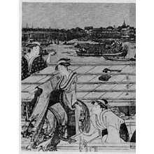 喜多川歌麿: (両国の船遊び 左) - 立命館大学