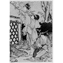 Kitagawa Utamaro: (柿採り 右) - Ritsumeikan University
