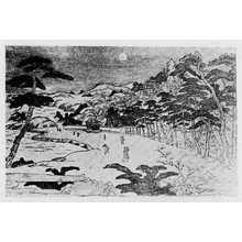Kitagawa Utamaro: 「近江八景」 - Ritsumeikan University