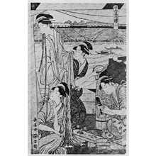 Eishosai Choki: 「涼舟五枚続 一」 - Ritsumeikan University