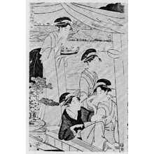 Eishosai Choki: 「涼舟五枚続 五」 - Ritsumeikan University