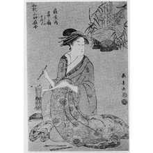 Eishosai Choki: 「和歌三神扇合」 - Ritsumeikan University