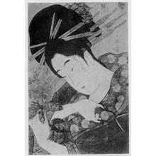Ichirakutei Eisui: 「松葉屋よそおひ」 - Ritsumeikan University