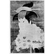Toshusai Sharaku: 「岩井半四郎」 - Ritsumeikan University