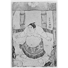 Toshusai Sharaku: (大童山土俵入) - Ritsumeikan University