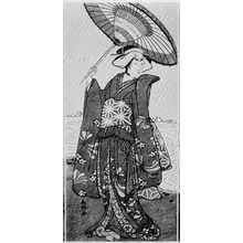 Katsukawa Shunko: (曽我娘長者、瀬川菊之丞) - Ritsumeikan University