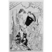 Katsukawa Shunko: (尾上松助)(瀬川菊之丞)(市川海老蔵) - Ritsumeikan University
