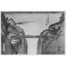 北寿: 「甲斐国猿橋之図」 - Ritsumeikan University