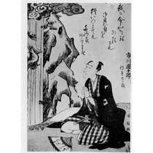 国政: 「市川団十郎」「行年廿二歳」 - Ritsumeikan University