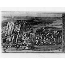 Utagawa Kunitora: 「浮絵三芝居春狂言大当之図」 - Ritsumeikan University