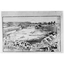 歌川国安: 「浮絵日本橋朝市之図」 - 立命館大学
