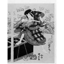 Utagawa Kuniyasu: 「市川団十郎」 - Ritsumeikan University