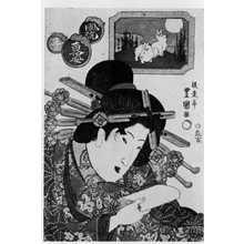 Utagawa Toyoshige: 「風流東姿十二支」 - Ritsumeikan University