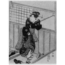 Utagawa Kunisada: 「春の稽古所 中」 - Ritsumeikan University