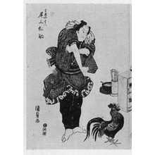 Utagawa Kunisada: 「尾上松助」 - Ritsumeikan University