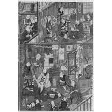 歌川国貞: 「中村座楽屋之図 1」 - 立命館大学