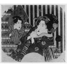 Utagawa Kunisada: 「見立お染久松」 - Ritsumeikan University