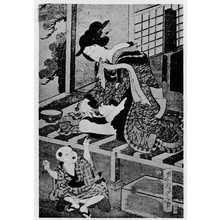 二代歌川国貞: 「東京美女そろひ」 - 立命館大学