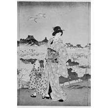 Toyohara Chikanobu: 「倭風俗不忍池畔 中」 - Ritsumeikan University