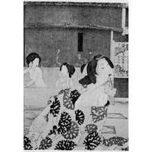 Tsukioka Yoshitoshi: 「大松楼風呂場 中」 - Ritsumeikan University