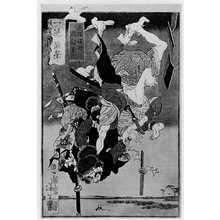 Tsukioka Yoshitoshi: 「犬塚信乃と犬飼現八」 - Ritsumeikan University