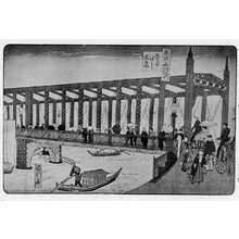 Utagawa Kunitoshi: 「東京名所」 - Ritsumeikan University