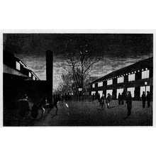Inoue Yasuji: (新吉原夜桜景) - Ritsumeikan University