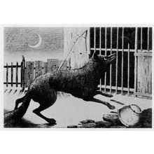 小林清親: (月下の狐) - 立命館大学