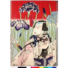 Toyohara Kunichika: 「竜王の駒 中村芝翫」 - Ritsumeikan University