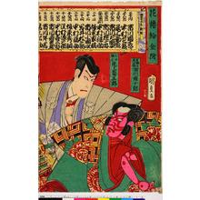 Utagawa Kunisada: 「花櫓給金附」 - Ritsumeikan University