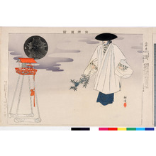 Tsukioka Kogyo: 「能楽図絵」「三井寺」 - Ritsumeikan University