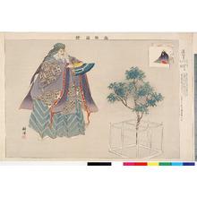 Tsukioka Kogyo: 「能楽図絵」「道明寺」 - Ritsumeikan University