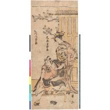 Torii Kiyonaga: 「岩井半四郎」「市川八百蔵」 - Ritsumeikan University
