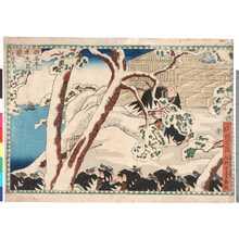 Utagawa Kuniyoshi: 「仮名手本忠臣蔵 十一段目次」 - Ritsumeikan University