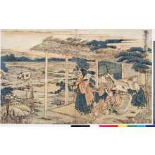 Katsushika Hokusai: 「仮名手本忠臣蔵 六段目」 - Ritsumeikan University
