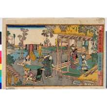 Utagawa Fusatane: 「今様忠臣蔵六段目」 - Ritsumeikan University