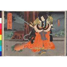 Utagawa Kunikazu: 「大日本六十余州 安房」 - Ritsumeikan University
