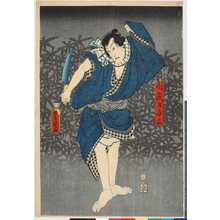 Utagawa Kunisada: 「向疵乃与三実ハ太平次」 - Ritsumeikan University