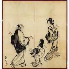 Yamamoto Shoun: [由良之助遊興の図] - Ritsumeikan University