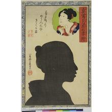 Ochiai Yoshiiku: 「真写月花の姿絵」 - Ritsumeikan University