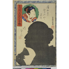 Ochiai Yoshiiku: 「真写月華の姿絵」 - Ritsumeikan University