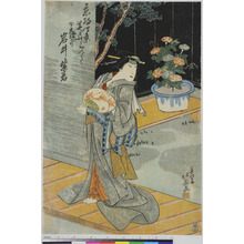 北英: 「京都四条芝居において」 - Ritsumeikan University