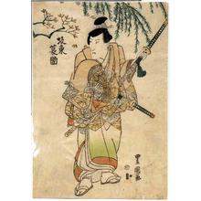 Utagawa Toyoshige: 「坂東蓑助」 - Ritsumeikan University