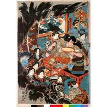 Utagawa Kunimasa III: 「賊首酒呑童子」 - Ritsumeikan University