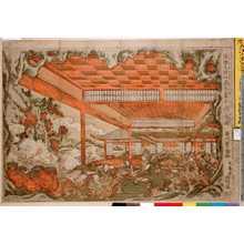 Utagawa Toyoharu: 「浮絵大江山酒天童子酒☆図」 - Ritsumeikan University