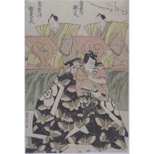 Utagawa Toyokuni I: 「常磐津綱太夫」「常磐津都賀太夫」 - Ritsumeikan University